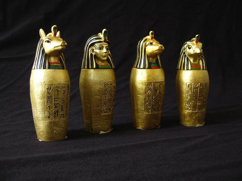Canopic Jars Ancient Egypt Facts For Kids