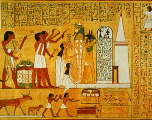 Ancient Egyptian Paiinting Part 48
