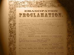 an introduction to the history of the emancipation proclamation The emancipation proclamation was an executive order issued on january 1,   in history there are many key concepts and terms that are crucial for students to.