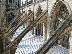 buttresses