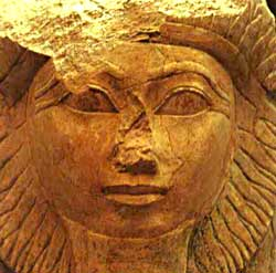 Hatshepsut  hat-shep-soot Queen Hatshepsut Tomb Discovered