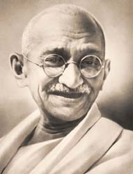Mohandas gandhi biography summary