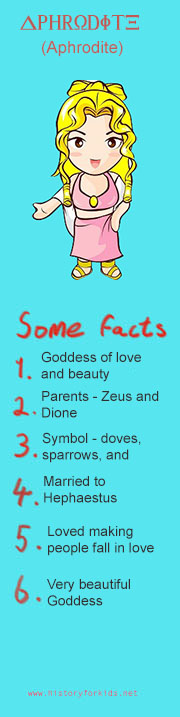facts about aphrodite the greek goddess of love and beauty