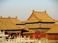 Imperial Architecture There Were Certain Distinct Features Which Solely Reserved For Buildings That Built Chinese Emperors