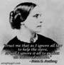 History of Susan B. Anthony