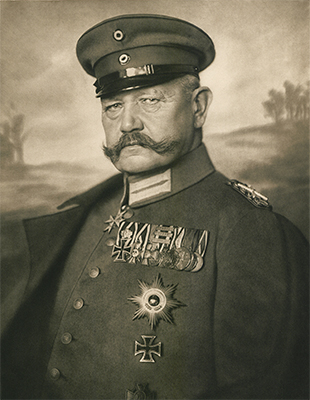 History of Paul von Hindenburg