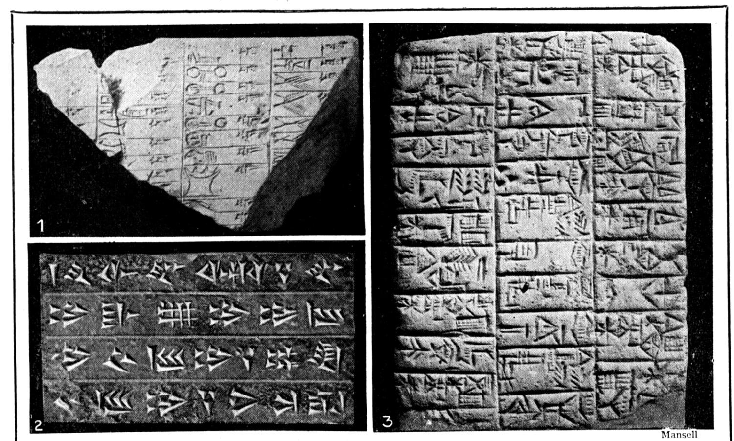 History of Sumerian Writing and Cuneiform