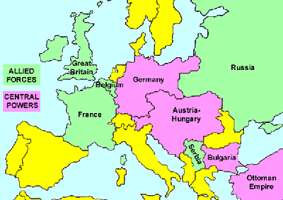 History of Central Powers