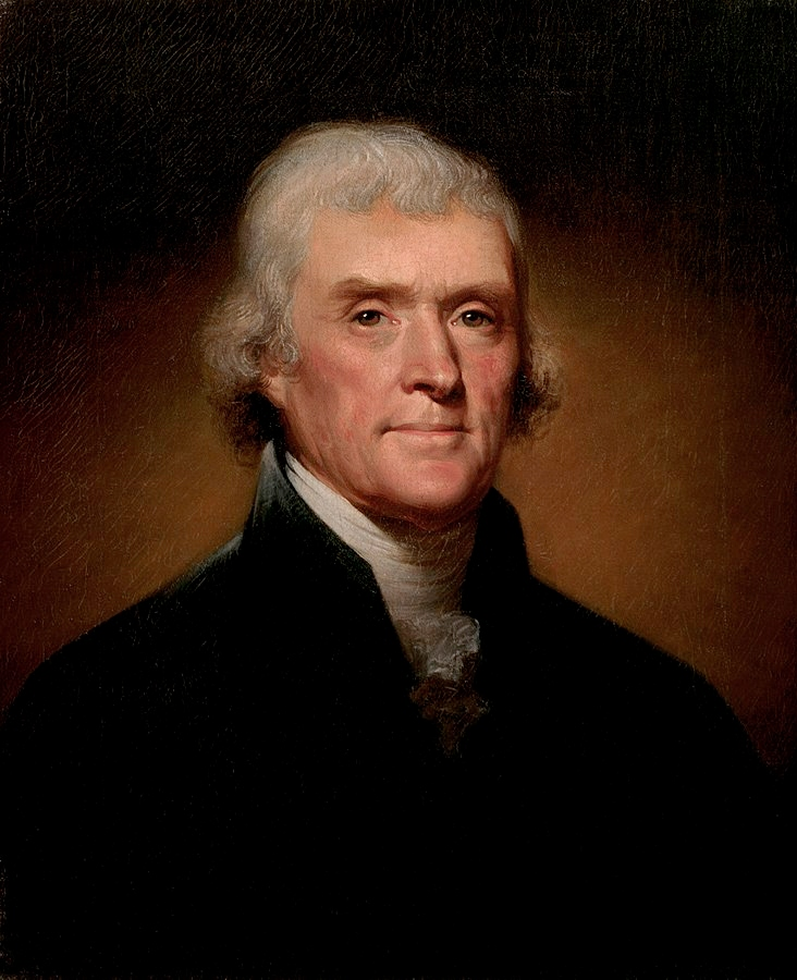 History of Thomas Jefferson's Dream