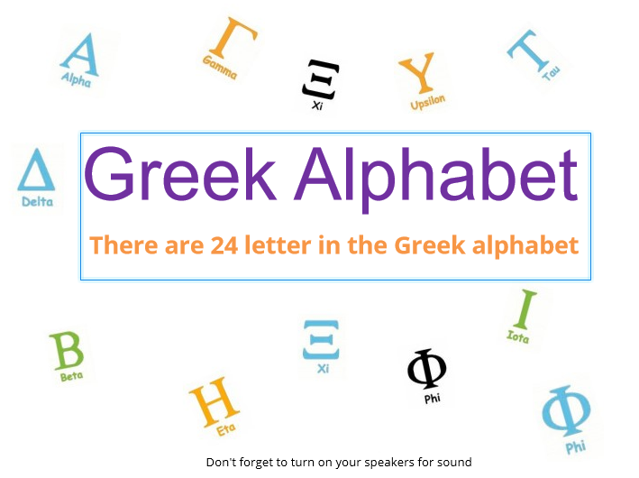 History of Greek Alphabet