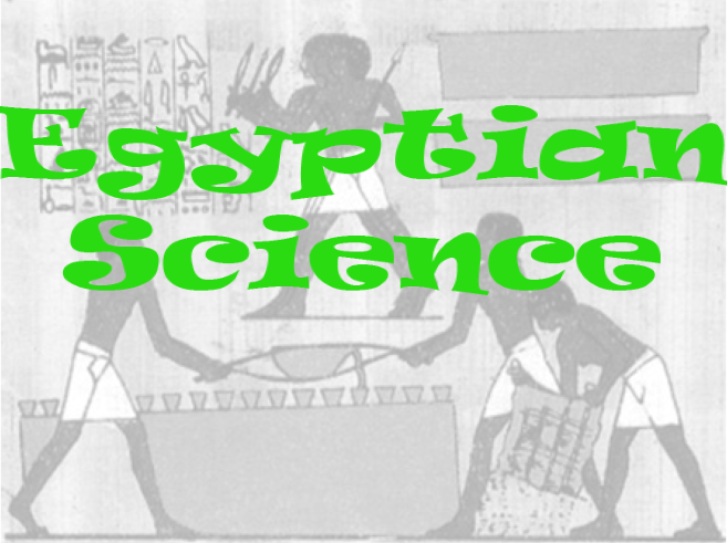 History of Egyptian Science Quiz