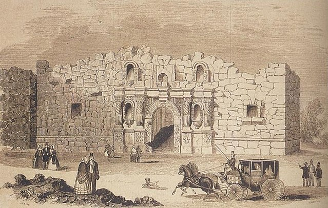 History of Battle of the Alamo