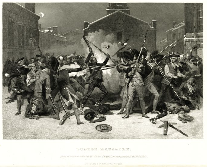 History of After the Boston Massacre