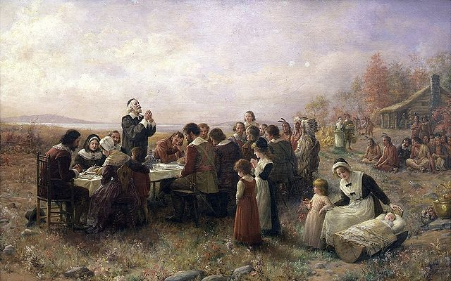 History of The First Thanksgiving