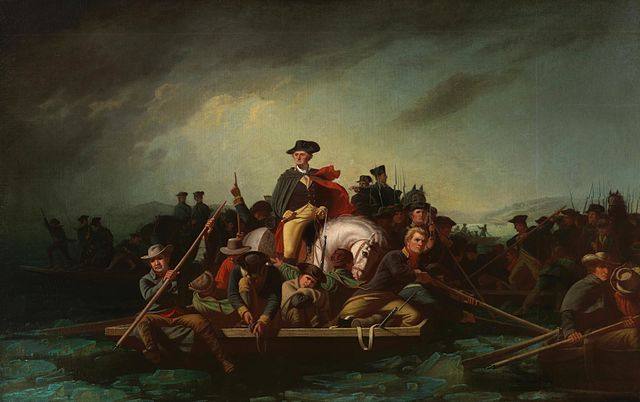 History of Crossing the Delaware