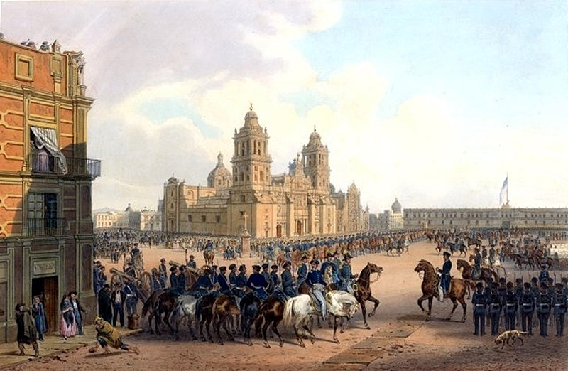 American occupation of Mexico City in 1847